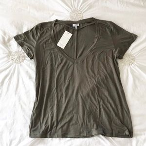 NWT Tobi Strappy Collar T-shirt - Large